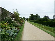 TQ1352 : Pathway to Polesden Lacey House by Dave Spicer