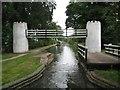 SK1900 : Birmingham & Fazeley Canal: Drayton Footbridge and Swivel Bridge by Nigel Cox