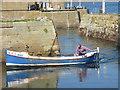 NT9267 : Coastal Berwickshire : Left Hand Down A Bit by Richard West