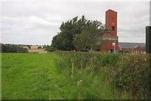 SJ9030 : Path past Staffordshire Fire and Rescue Headquarters by Derek Harper