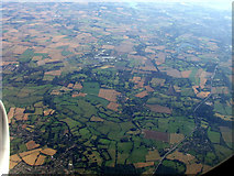 TM0534 : East Bergholt from the air by Thomas Nugent