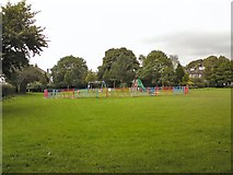 SJ9995 : Mottram play area by Gerald England