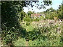 TL2327 : Footpath to Rectory End, Graveley by Humphrey Bolton