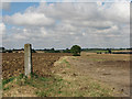 TL6352 : Gate post and farm track by John Sutton