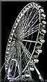 SX9163 : English Riviera Wheel at night by Steven Haslington