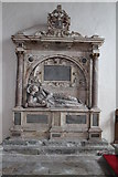 TF0904 : Memorial to Lady Bridget Carre, St Andrew's church, Ufford by J.Hannan-Briggs