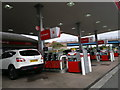 SX9084 : Texaco petrol station, Telegraph Hill by Steven Haslington
