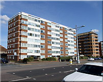 TQ2704 : Braemore Court, Kingsway, Hove by PAUL FARMER