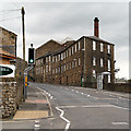 SJ9984 : New Mills, Brunswick Mill by David Dixon