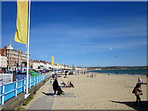 SY6879 : Weymouth Beach and Seafront by Roy Hughes