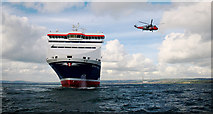 J5083 : The 'Stena Precision' in Belfast Lough by Rossographer