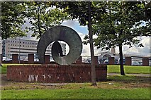 SJ3590 : The Sea Circle Sculpture, Seymour Street, Liverpool by El Pollock