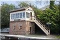 SO0561 : Llandrindod Wells Signal Box by Bill Nicholls