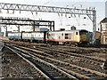 SJ8990 : Railway Station, Stockport by Dave Hitchborne