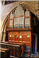 TF0733 : Organ, St Andrew's church, Folkingham by J.Hannan-Briggs