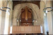 TL3852 : Assumption of the Blessed Virgin Mary, Harlton - Organ loft by John Salmon