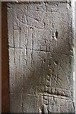 TL3852 : Assumption of the Blessed Virgin Mary, Harlton - Graffiti by John Salmon