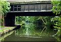 SP1284 : Stockfield Road Bridge near Tyseley, Birmingham by Roger  Kidd