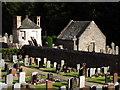 NO7095 : Kirkyard, Banchory St Ternan by Colin Smith