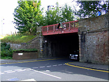 NS3421 : Mill Street railway bridge by Thomas Nugent