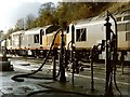 SK0573 : Railway Depot, Buxton by Dave Hitchborne