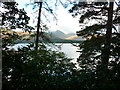 NY2621 : Derwent Water from the permissive path by Ian S