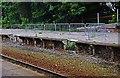 SD3627 : Crumbling disused platform at Lytham Railway Station, Station Square, Lytham by P L Chadwick