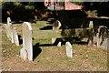 TQ6892 : St Mary Magdalene, Great Burstead - Churchyard by John Salmon