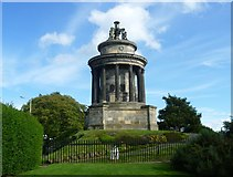 NT2674 : Burns Monument on the Calton Hill by kim traynor