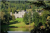NT4227 : Bowhill House and the Upper Lake by Jim Barton