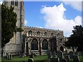 TL1860 : St Mary The Virgin Church, St Neots by Paul Gillett
