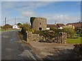 S8708 : Round tower at Cullenstown by Oliver Dixon