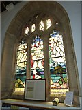 ST6601 : St Mary, Cerne Abbas: stained glass window (a) by Basher Eyre