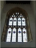 ST6601 : St Mary, Cerne Abbas: stained glass window (b) by Basher Eyre