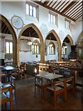 ST6601 : St Mary, Cerne Abbas: arches by Basher Eyre