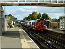 TQ1289 : Watford train arriving at Pinner by Robin Webster