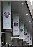 TQ3180 : IBM banners by Thomas Nugent