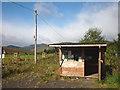 NO0263 : Wooden kiosk at SEER Centre, Glen Brerechan by Karl and Ali