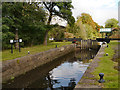 SJ8699 : Slater's Lower Lock, Rochdale Canal by David Dixon