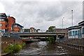 SU9949 : Friary Bridge by Ian Capper