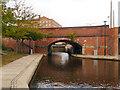 SJ8498 : Rochdale Canal, Bridge#91 by David Dixon