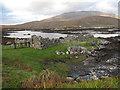 NF7727 : House remains at Unasaraidh by Hugh Venables