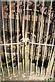 SO4565 : Caged wheel - Fishpool Valley by Chris Allen