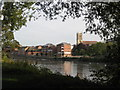 SO8454 : The River Severn at Worcester by Philip Halling