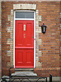 SX9473 : Front door, 69 Lower Brimley Road by Robin Stott