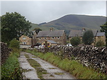 SK1583 : Track approaching Castleton by Andrew Hill