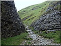 SK1482 : A narrow section of Cave Dale by Andrew Hill