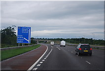 NY3366 : M6, Junction 45 by N Chadwick