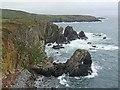 SM7424 : Porth Coch Mawr by Oliver Dixon