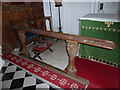 ST5561 : Saint Andrew, Chew Stoke: communion rail (A) by Basher Eyre